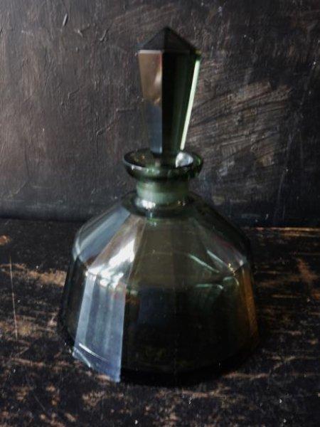 画像1: 西洋骨董屋 フランスアンティーク 多面体の香水瓶 B (1)